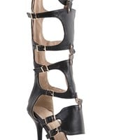 Tall Cut Out Gladiator High Heels