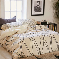 Heather Dutton For DENY Fuge Stone Duvet Cover - Urban Outfitters