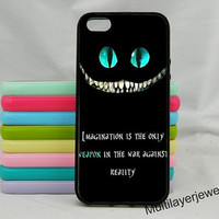 Alice in wonderland we're all mad here iphone 5s case,We are all mad here,cheshire cat iPhone Case 4/4s,iphone 5,Samsung S3 S4 S5,Iphone 5c