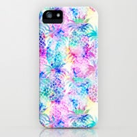 Pineapple Dream iPhone & iPod Case by Schatzi Brown