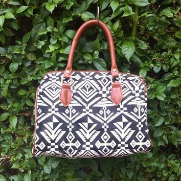 The Ikat Travel Satchel [7401] - $35.00 : Feminine, Bohemian, & Vintage Inspired Clothing at Affordable Prices, deloom
