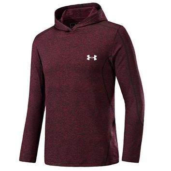 One-nice™ UNDER ARMOUR Women Men Lover Top Sweater Hoodie Red