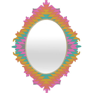 Bianca Green Ancient Rainbow Baroque Mirror