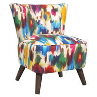 Barnes Modern Linen Chair, Multi, Accent & Occasional Chairs