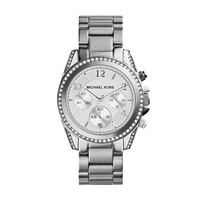Michael Kors Blair Stainless Steel Ladies Chronograph Watch