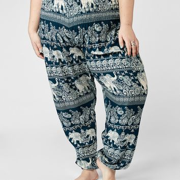 Ziggy Plus Size Harem Pants