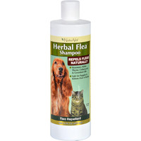 Naturvet Shampoo - Flea - Herbal - Dogs And Cats - 16 Oz