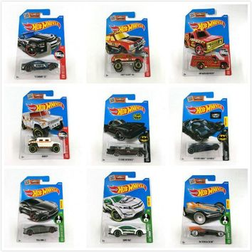 Batman Dark Knight gift Christmas Hot Wheels 1:64 Sport Car 2016 Set Metal Material Body Race Car TESLA MODEL S BATMAN  Gift For Kid NO211-249 AT_71_6