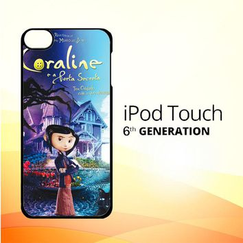 Coraline Nightmare X0133 iPod Touch 6 Case