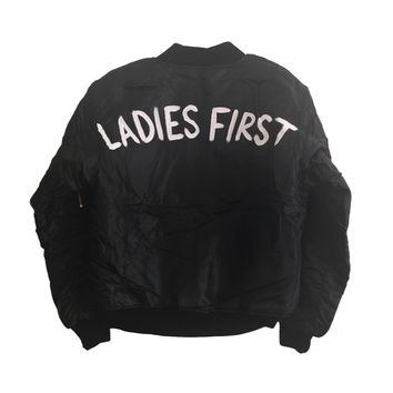 Ladies First Bomber Jacket