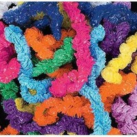 Fun Express Plastic Lei Assortment (100 Piece)