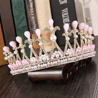 Accessory Princess Crystal Hair Accessories Korean Jewelry Fashion Wedding Dress [9284025540]