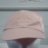 90s Pink Nike hat cap 1990s vintage retro low profile