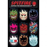 Spitfire Wheels Spitfire 50 Ways Sticker Sheet #1