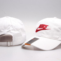 White Nike Golf Cap Hat