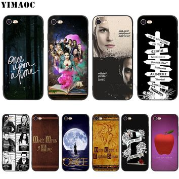 YIMAOC Once Upon A Time Silicone Soft Case for iPhone XS Max XR X 8 7 6 6S Plus 5 5S SE