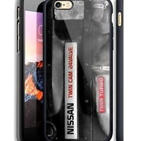 Nissan Twin Engine Hard Case For iPhone 6 6+ 6s 6s+ 7 7+ 8 8+ X Samsung Cover