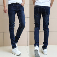 Skinny Fit Dark Blue Men Denim Jeans