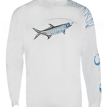 Men's Tarpon Megalops UV Vented L/S Fishing Shirt