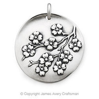 Dogwood Blossoms Pendant from James Avery