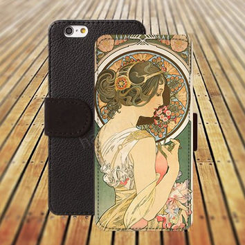 iphone 5 5s case painting woman colorful iphone 4/4s iPhone 6 6 Plus iphone 5C Wallet Case,iPhone 5 Case,Cover,Cases colorful pattern L360