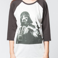 Star Wars Darth Vader T Shirts Space Universe Robot Baseball Tee Shirt Jersey Raglan Long Sleeve Unisex Women Shirt Size S M L XL