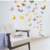 Butterfly Wall Sticker Bedroom Living Room Home Decor Stickers [4923132100]