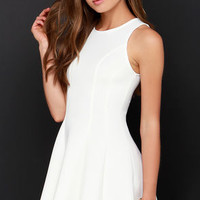 Call Me Maybe Ivory Dress