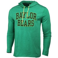 Baylor Bears Neon Arch Fullback Hooded T-Shirt – Green