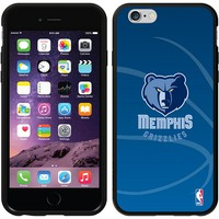 Coveroo, Inc. Memphis Grizzlies Basketball Design iPhone 6 Switchback Snap-On Case 786-545-BK-FBC (Grz Team)
