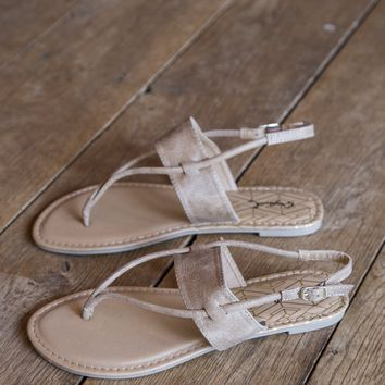 Athena One Band Sandal, Camel