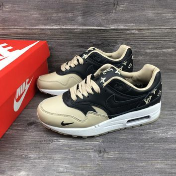 louis vuitton x nike air max 1 custom