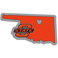 Oklahoma St. Cowboys Home State Decal