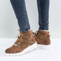 Pieces Hiking Boots at asos.com