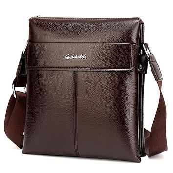 Man Leather Messenger Bag, Male Cross Body Shoulder, Men's Travel Bag Brown Handbags Men Business Bag