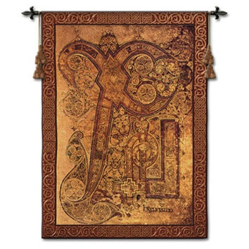 Chi Rho Book of Kells Tapestry - 6830