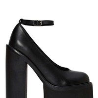 Jeffrey Campbell Scully 2 Platform - Black