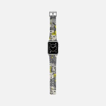sweater mice chartreuse apple watch band Apple Watch Band (38mm) by Sharon Turner   Casetify