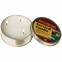 36-Hour Emergency Survival Candle