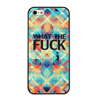 Cool Fuck Colorful Hard Cover Case For Iphone 5