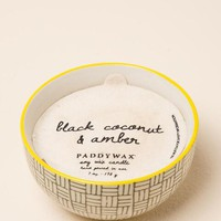 Black coconut and amber boheme candle