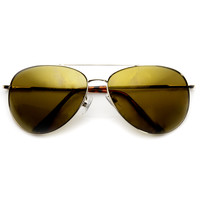 Premium Full Metal Flash Revo Mirror Lens Aviator Sunglasses 1492
