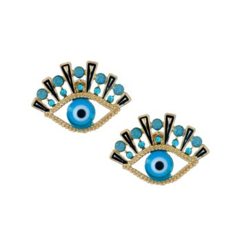 ALL SEEING EYE STUD EARRINGS