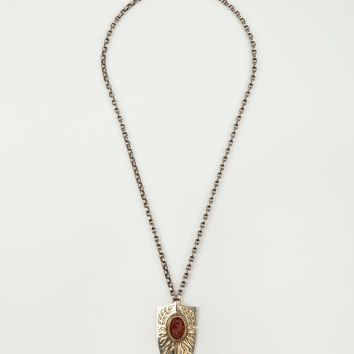 "ELIE TOP ""Fire Blazon"" Necklace"