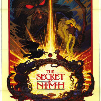 The Secret of NIMH 11x17 Movie Poster (1982)
