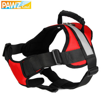 Free Shipping Big Dog Harness Reflective Pet Products for Dogs Running can be Control Pull-resistant 2 Colors S/M/L