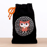 Halloween Owl Muslin Treat Bag | Halloween| Home Decor | World Market