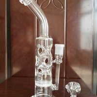 Design Fab Egg with honeycomb bubbler pipe glass pipes water pipes Oil Rigs