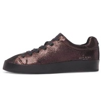 Rag & Bone RB1 Copper Metallic Lace Up Tennis Shoe
