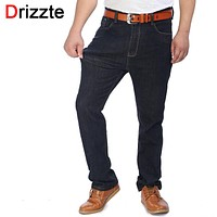 Men Jeans Black Stretch Denim Jeans Work Trousers Jeans Pants